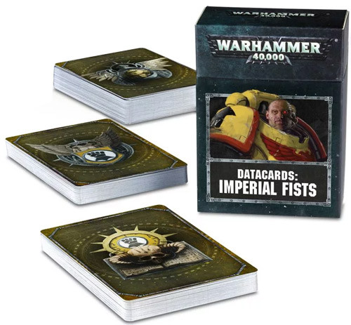 Warhammer 40K: Datacards - Imperial Fists