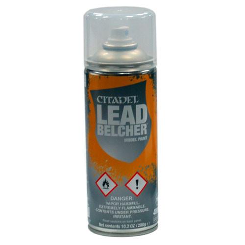Citadel Spray Paint: Leadbelcher