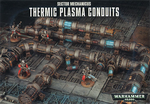 Warhammer Sector Mechanicus Thermic Plasma Conduits