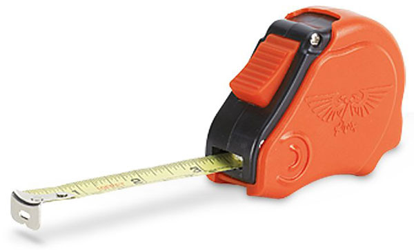 Games Workshop Tape Measure