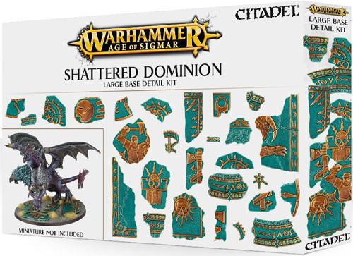 Age of Sigmar: Shattered Dominion - Large Base Detail Kit