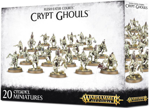91-12 Brand New in Box! Flesh-Eater Courts Crypt Ghouls Warhammer AoS
