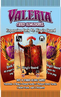 Valeria: Card Kingdoms - Expansion Pack #1 King's Guard