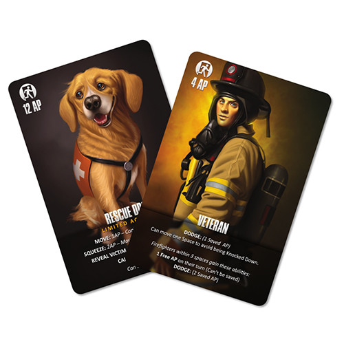 Flash Point: Fire Rescue - Veteran and Rescue Dog Expansion Pack
