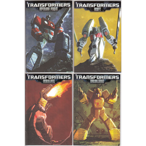 Micro Comic Fun Pack: Transformers
