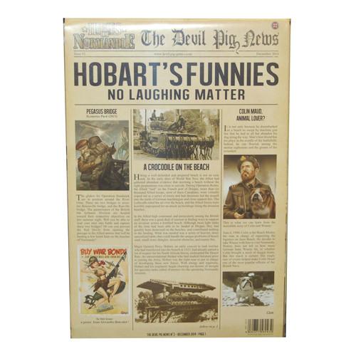 Heroes of Normandie: Gazette #2 - Hobart's Funnies