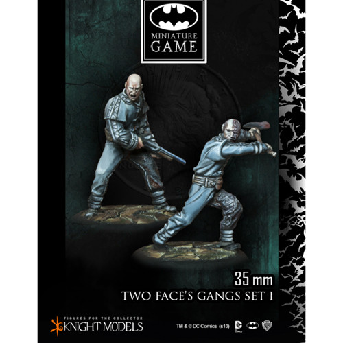 Batman Miniatures Game: Two Face's Gang Set 1 (2)