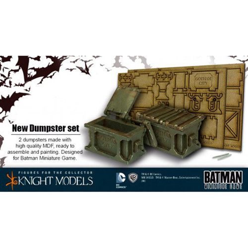 Batman Miniatures Game: Dumpster Set
