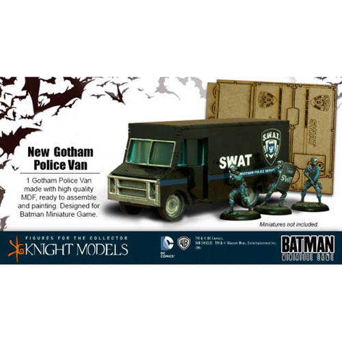 Batman Miniatures Game: Gotham Police Van