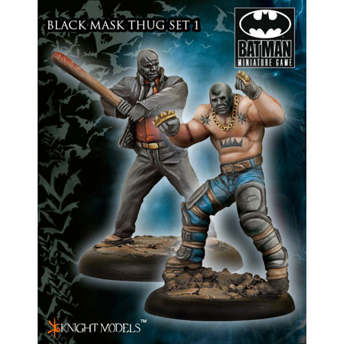 Batman Miniatures Game: Black Mask Thugs Set I (2)