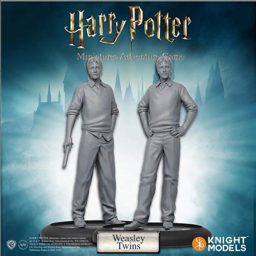 Harry Potter Miniatures Game: Weasly Twins