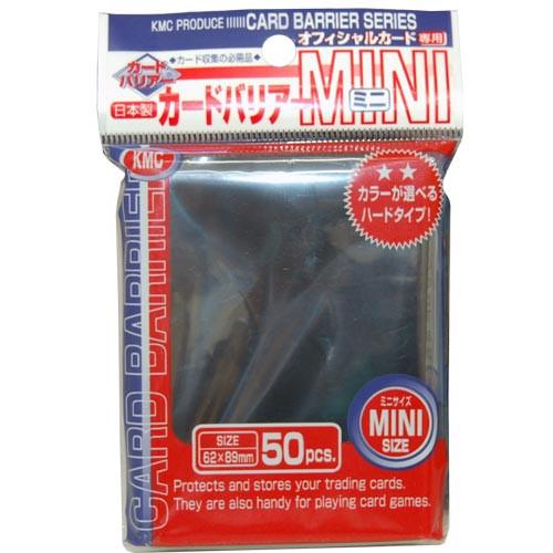KMC Mini Sleeves: Black (50ct)