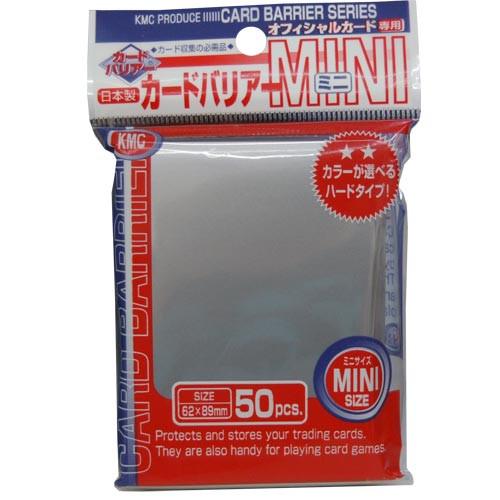 KMC Mini Sleeves: Silver (50ct)