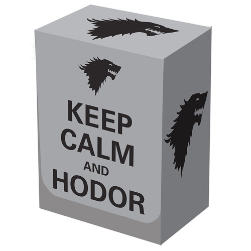 Legion Deck Box: Keep Calm and Hodor
