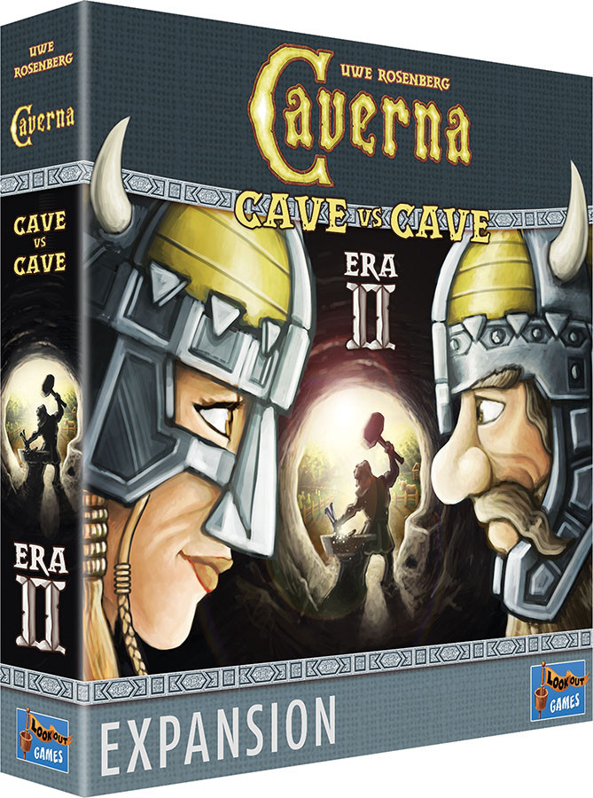 Caverna: Cave vs Cave - Era II The Iron Age Expansion