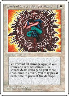 Circle of Protection: Artifacts - 4th Edition