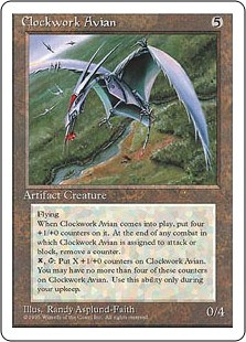 Clockwork Avian - 4th Edition