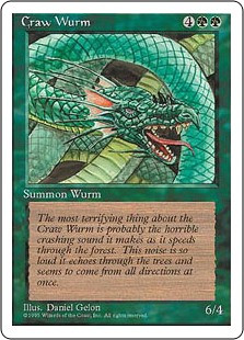 Craw Wurm - 4th Edition