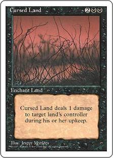 Cursed Land - 4th Edition