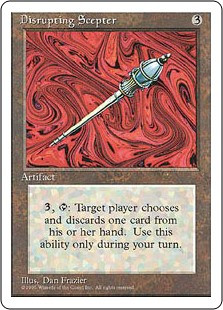 Disrupting Scepter - 4th Edition