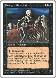 Drudge Skeletons - 4th Edition