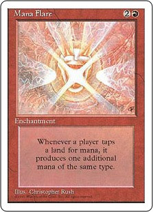 Mana Flare - 4th Edition