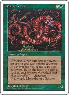 Marsh Viper - 4th Edition