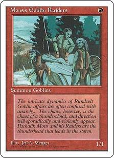 Mons's Goblin Raiders - 4th Edition