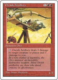 Orcish Artillery - 4th Edition
