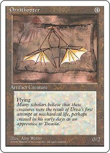 Ornithopter - 4th Edition