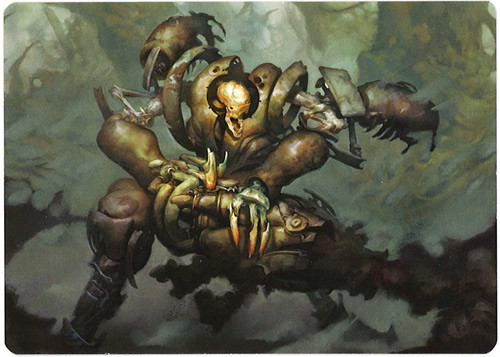 Magic The Gathering Plague Engineer Modern Horizons Art