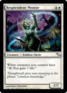 Shadowmoor Roughshod Mentor MTG Magic Card