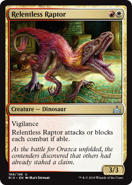 4 x Dinosaur Hunter 067//196 - Rivals of Ixalan Common