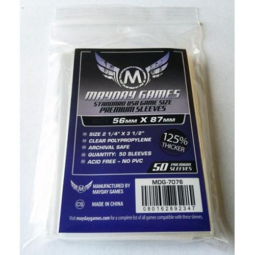 Mayday Sleeves: Premium Standard USA Size (50)