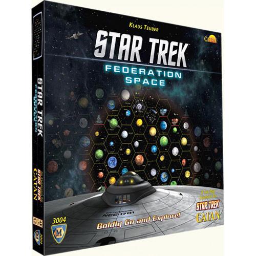 Star Trek Catan - Federation Space Map Set Expansion