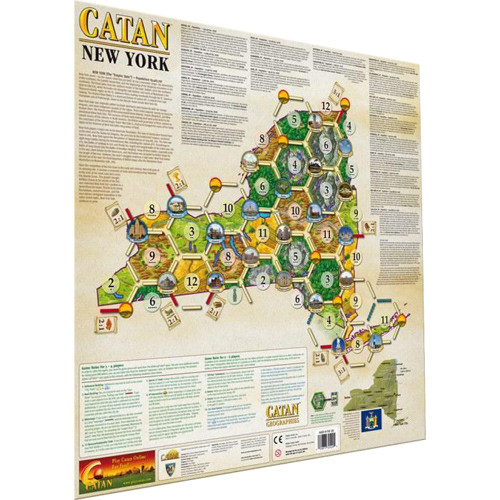 Catan Geographies: U.S.A. - New York Expansion