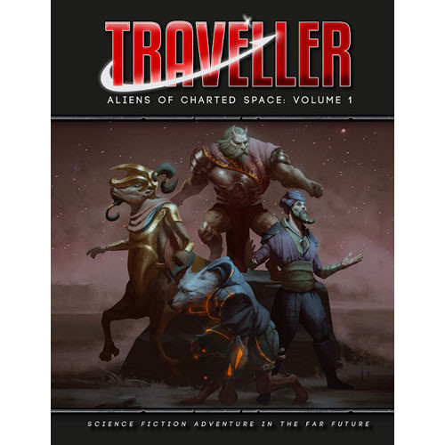 Traveller RPG: Aliens of Charted Space Vol 1 (Hardcover)