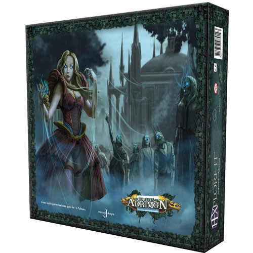 HEXplore It: The Forests of Adrimon (Core Game)