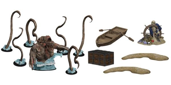 D&D Miniatures: Monster Menagerie 3 - Kraken & Island