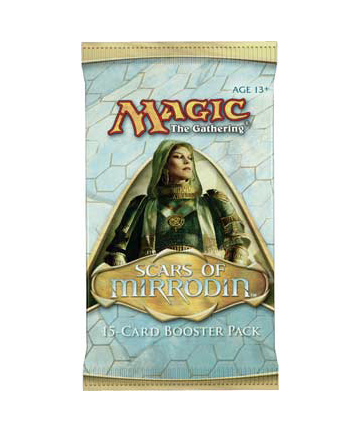 Magic The Gathering - Scars of Mirrodin Booster Pack