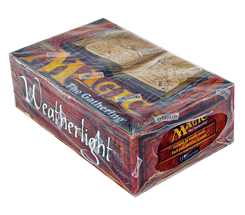 Magic the Gathering Weatherlight Booster Box