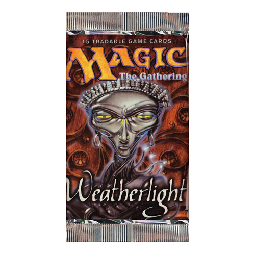 Magic The Gathering - Weatherlight Booster Pack