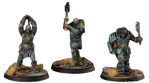 Fallout Wasteland Warfare Super Mutants Core Box Miniatures Modiphius