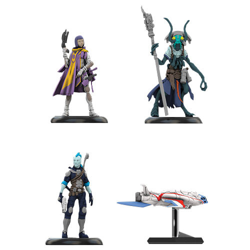 Starfinder RPG Miniatures: Iconic Heroes Set #1