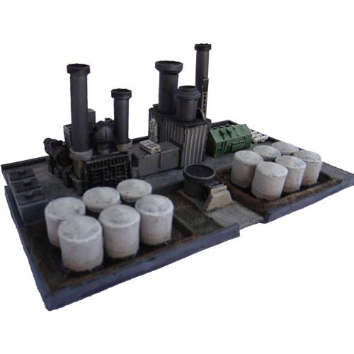 Novus Design: Oil Refinery