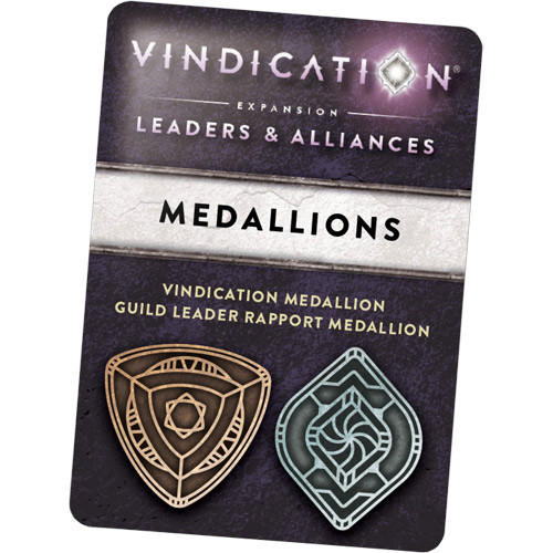 Vindication: Leaders & Alliances - Metal Medallion Upgrades