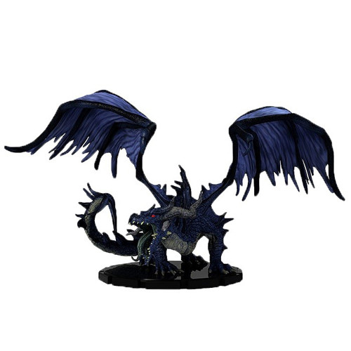 Heroes & Monsters #41 Huge Black Dragon (Out of Box)