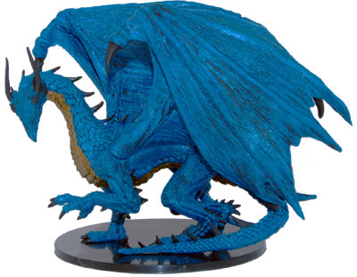 Legendary Adventures #043 Huge Blue Dragon (R)