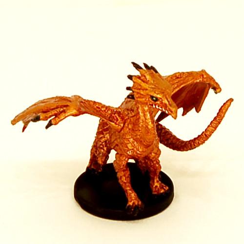 Lost Coast #035 Medium Brass Dragon (R)