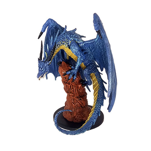 Large Blue Dragon # 38 D /& D Minis Deathknell